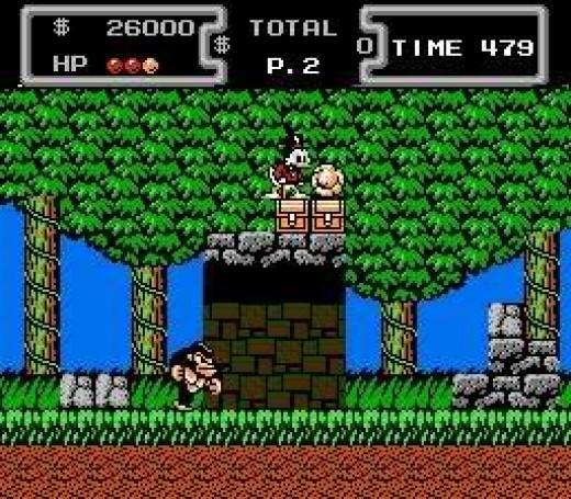 DuckTales-NES-Apina-Aarre