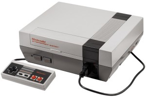 Nintendo 8-bit - NES konsoli
