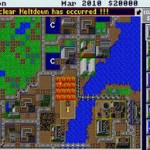 Sim City 1 Boston Nuclear Meltdown