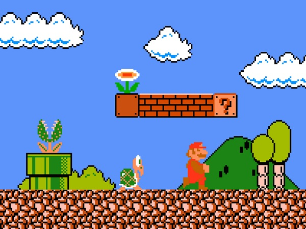 Super Mario Bros 1 NES