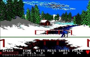 Winter Games ampumahiihto peli