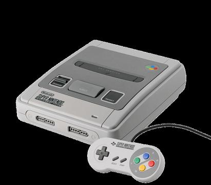 Super Nintendo Entertainment System - SNES