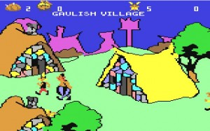 Asterix-magic-cauldron-peli-c64-gallialainen-kyla