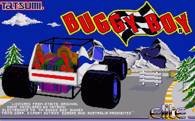 Buggy-Boy-alku