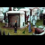 Gabriel Knight Sins Of The Fathers hautausmaa piha