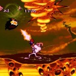 EarthWorm Jim SNES Laava Rata 150x150 Earthworm Jim tasohyppely 
