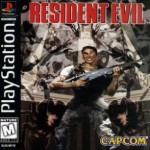 Resident Evil 1 PS1 Kansi 150x150 Resident Evil toiminta 3d pelit 