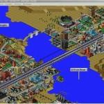 SimCity-2000-kaupunki-Silta-Ruuhka-Liikenne