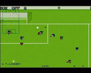 Player-Manager-Amiga-Jalkapallo-Peli-Ottelu