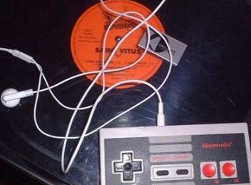 Nintendo-NES-LP-Soitin-Kuulokkeet