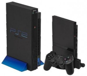 Playstation 2 videopelikonsoli