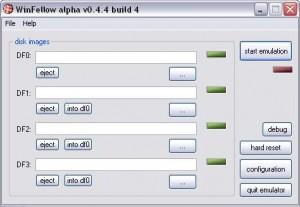 WinFellow Amiga Emulaattori 300x207 Amiga Emulaattori