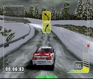 Colin McRae Rally PlayStation Mitsubishi Ruotsin Ralli Talvella