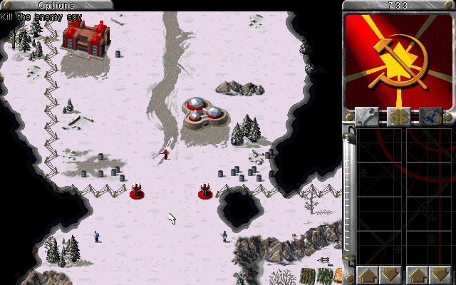 Command and Conquer Red Alert Venäjä Tukikohta