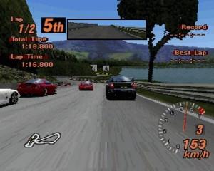 Gran Turismo Kilpailu radalla mutka