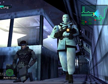 Metal Gear Solid Hiiviskely Vihollinen