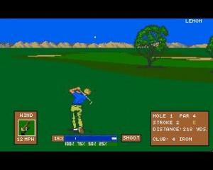 PGA Golf Tour Golfkenttä Lyönti