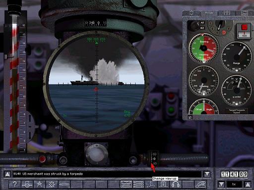 Silent Hunter 2 - Laivan upotus