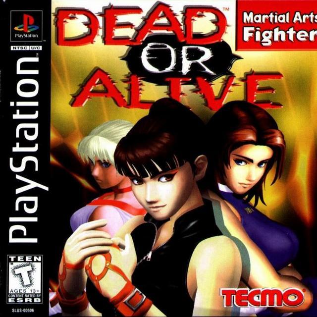 Dead or Alive PlayStation CD kansi