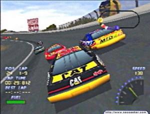 NASCAR 98 EA Sports PS1 Autot