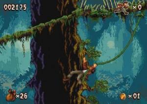 Pitfall Mayan Adventure Viidakko Liaani