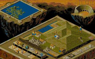 Populous 2 - Trials of the Olympian Gods - Kartta 1