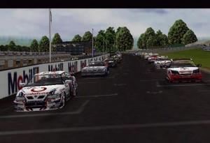 TOCA Touring Cars Kilpailu Lähtö Startti Autot