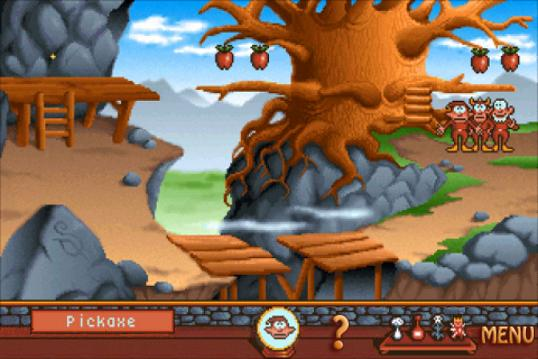 Gobliiins Puu Omenat Silta Pulmanratkonta Seikkailu