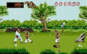 Ninja Rabbits Metsä Taistelu Tappelu Eläimet