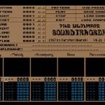 Ultimate Soundtracker Musiikinteko-ohjelma Raituri Editori