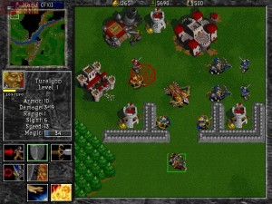 Warcraft 2 - Tides of Darkness - Linnat Taistelu Sotilaat