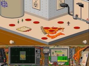 Battle Bugs Taistelu Keittiön Pöytä Pizza