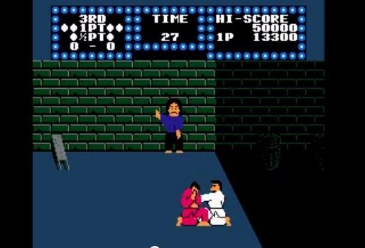 Karate Champ Tappelu Tiilirakennuksessa