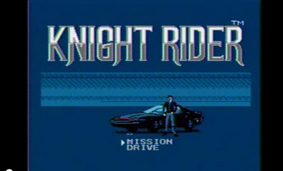 Knight Rider - Alku valikko