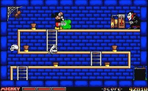 Mickey Mouse The Computer Game Mikki Hiiri Minipeli Dracula