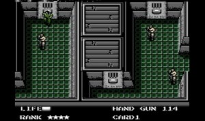 Metal Gear NES Vankila