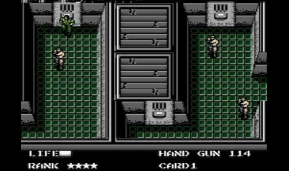 Metal Gear NES Vankila