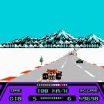 Rad Racer Autopeli Formula Lumi Talvi