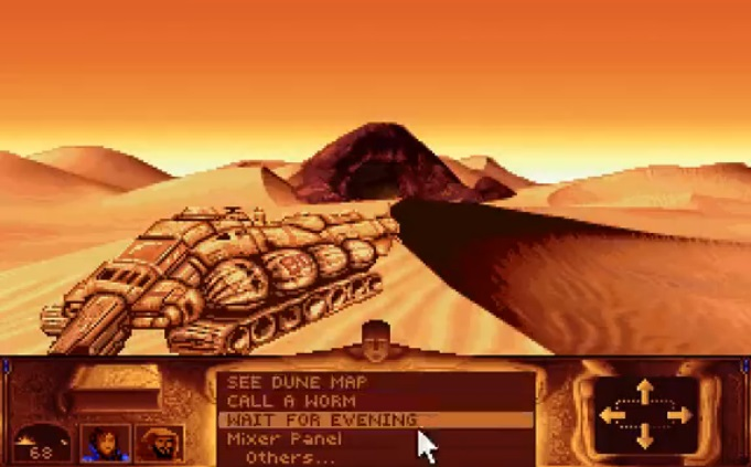 Dune - Hiekkadyyni Aavikko Ilta-aurinko