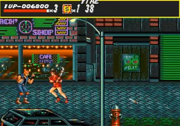 Streets of Rage 1 - Katu Blaze Fielding Tappelu