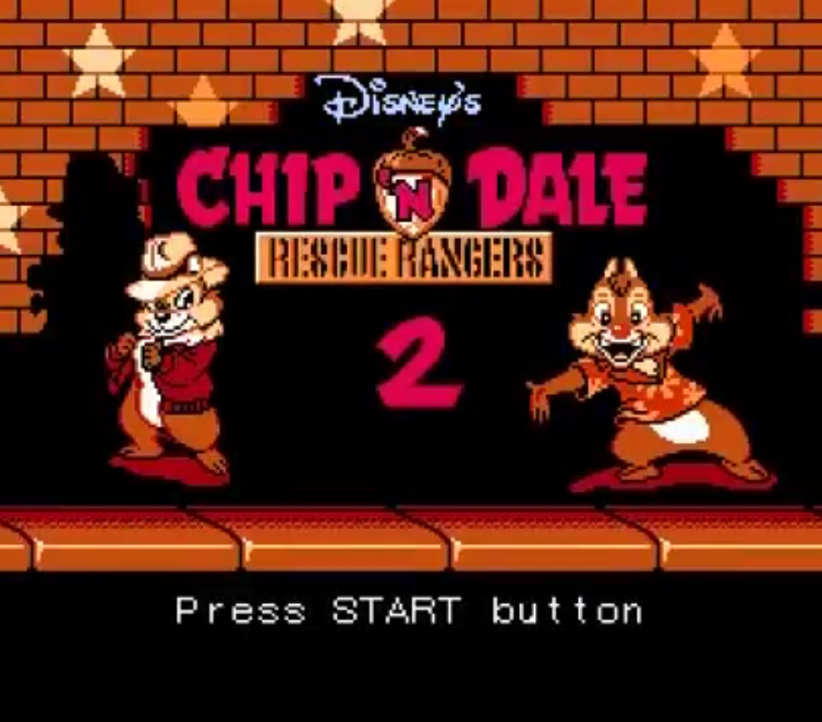 Chip 'n Dale Rescue Rangers 2 - Alku Intro