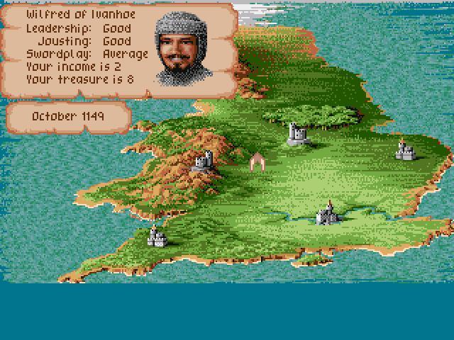 Defender Of The Crown Englannin Kartta Retropelit