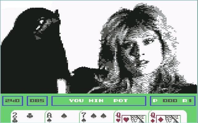 Samantha Fox Strip Poker korttipeli