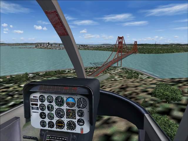 Microsoft Flight Simulator san Francisco