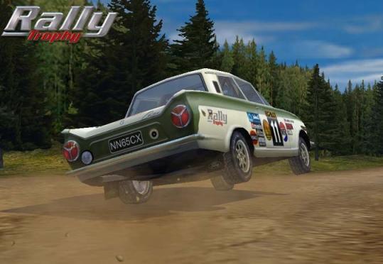 Rally Trophy auto Ford Cortina Tähtiperä