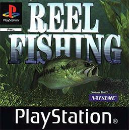 Reel Fishing PlayStation CD kansi
