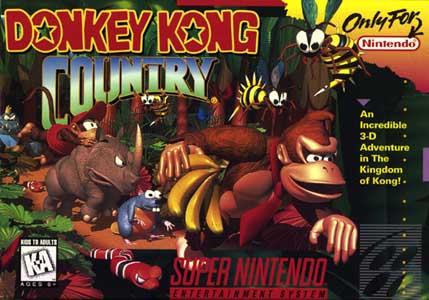 Donkey Kong Country SNES Kansi