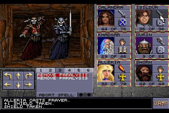 Eye Of The Beholder II The Legend Of Darkmoon Luurangot Taistelu