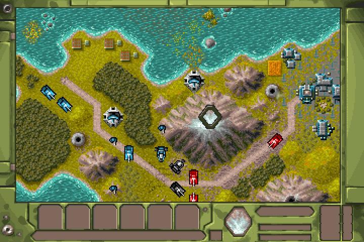 Battle Isle 2 Kartta Taistelu Strategia Vuoristo