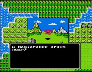 Dragon Warrior NES kuvankaappaus 1